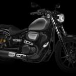2014 Yamaha XV950R Matt Grey Font Side_2