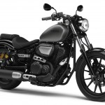 2014 Yamaha XV950R Matt Grey Front Side
