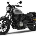 2014 Yamaha XV950R Matt Grey Front Side_1
