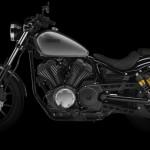 2014 Yamaha XV950R Matt Grey Left Side_1