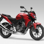 2013 Honda CB500F Candy Ruby Red