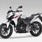 2013 Honda CB500F Pearl Himalayas White