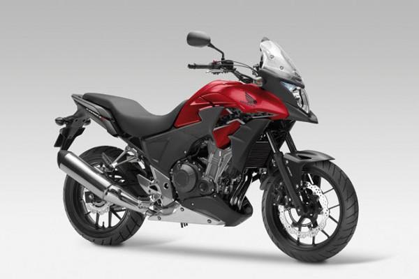 2013 Honda CB500X Candy Ruby Red