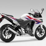 2013 Honda CBR500R Pearl Himalayas White