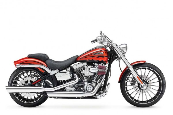 2014 Harley-Davidson CVO Breakout Black Orange_1