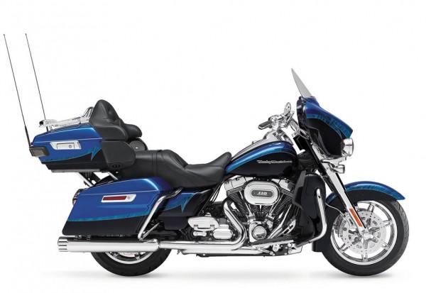 2014 Harley-Davidson CVO Limited Blue