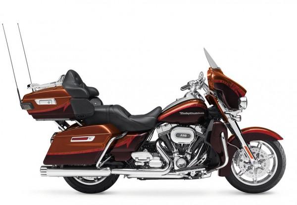 2014 Harley-Davidson CVO Limited Red Maroon