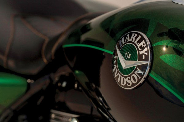 2014 Harley-Davidson CVO Road King Badge
