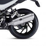 2014 BMW R1200R DarkWhite SE Jet Black Wheel