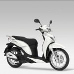 2014 HONDA SH Mode 125 White