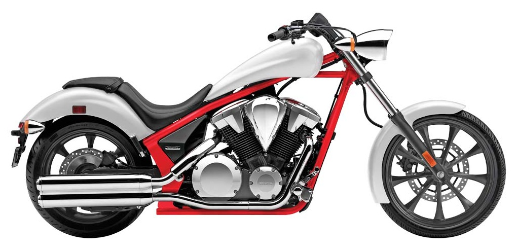 187 2014 Honda Fury White Red At Cpu Hunter All Pictures And News About Motorcycles And