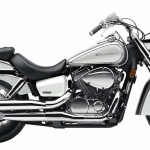 2014 Honda Shadow Aero Metallic Silver Pearl White