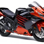 2014 Kawasaki Ninja ZX-14R Candy Burnt Orange