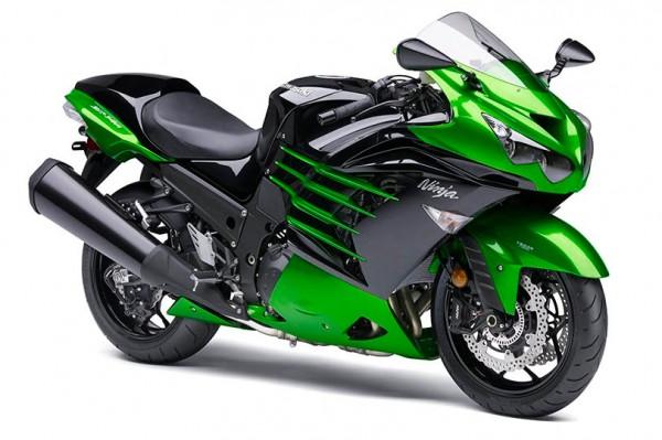 2014 Kawasaki ZX-14R Ninja Golden Blazed Green
