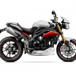 2014 Triumph Speed Triple R Matt Crystal White