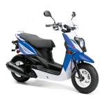2014 Zuma 50FX Scooter Blue White