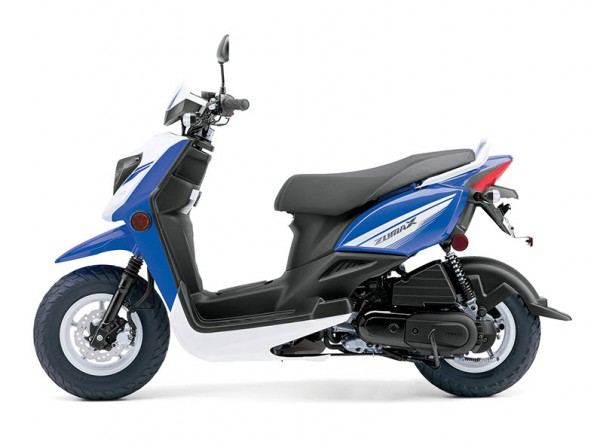 2014 Zuma 50FX Scooter Blue White_3