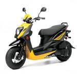 2014 Zuma 50FX Scooter Vivid Yellow_2