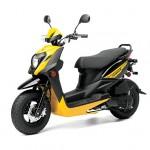 2014 Zuma 50FX Scooter Yellow