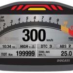 2014 Ducati Monster 1200 Instrument Display