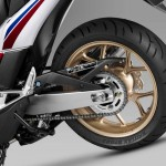 2014 Honda Integra Maxi-Scooter Rear Wheel