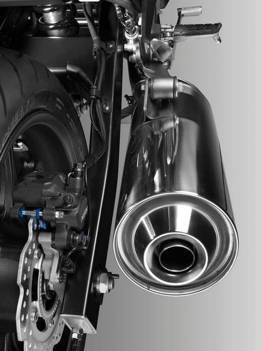 2014 Honda NC750S Exhaust