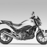 2014 Honda NC750S Silver
