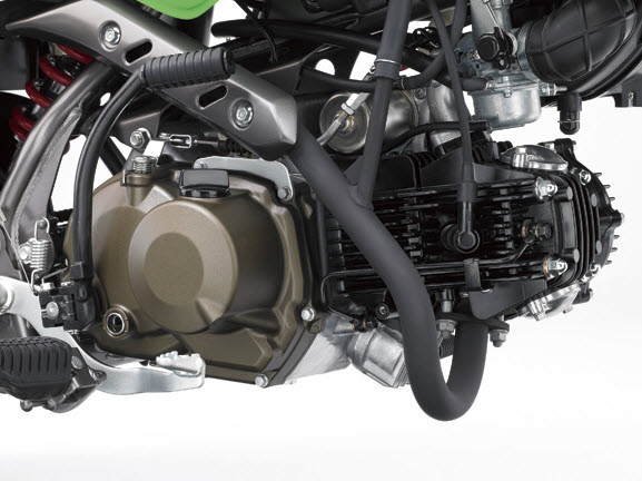 2014 Kawasaki KSR Pro Engine