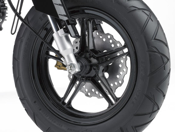 2014 Kawasaki KSR Pro Front Wheel_1