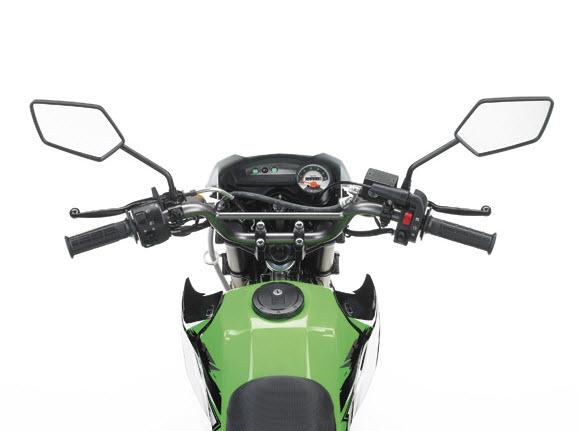 2014 Kawasaki KSR Pro Handlebars