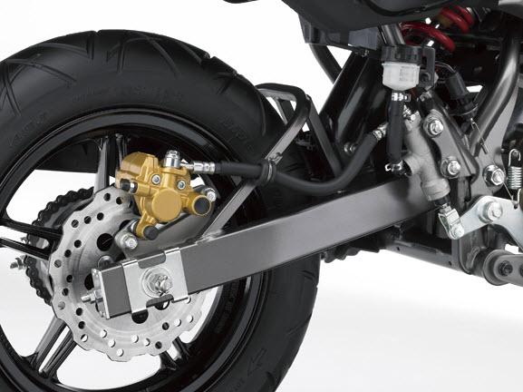 2014 Kawasaki KSR Pro Rear Wheel