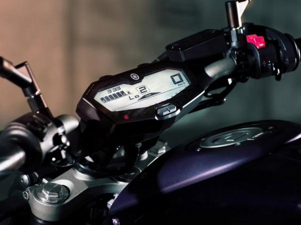 2014 Yamaha MT-07 Hadle
