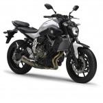 2014 Yamaha MT-07 Matt Grey