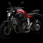 2014 Yamaha MT-07 Racing Red