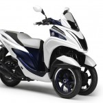Yamaha Tricity Showcased At EICMA