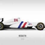 2014 Hesketh 24 F1