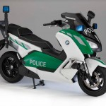 BMW Intoduces The Police-Spec Version of The C Evolution Electric Scooter