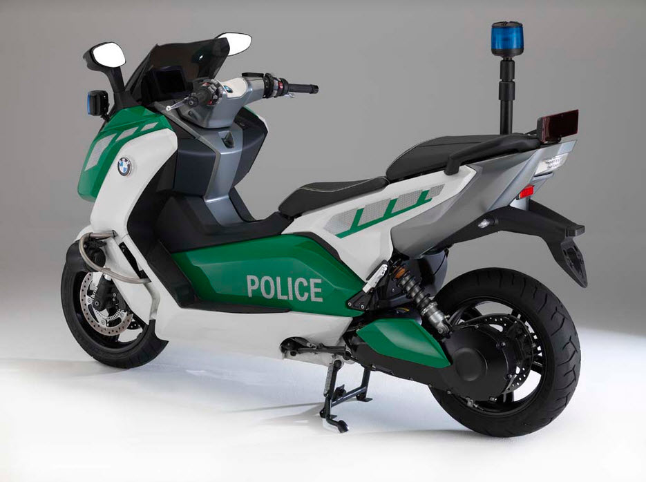 bmw c evolution police spec electric scooter 1 at cpu hunter all pictures and news about. Black Bedroom Furniture Sets. Home Design Ideas