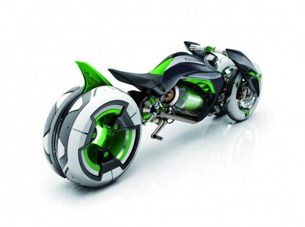 Kawasaki J Electric Three-Wheeler Concept_2