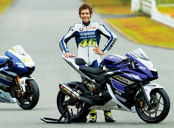 Rossi and Yamaha R25 250cc Sportbike Prototype