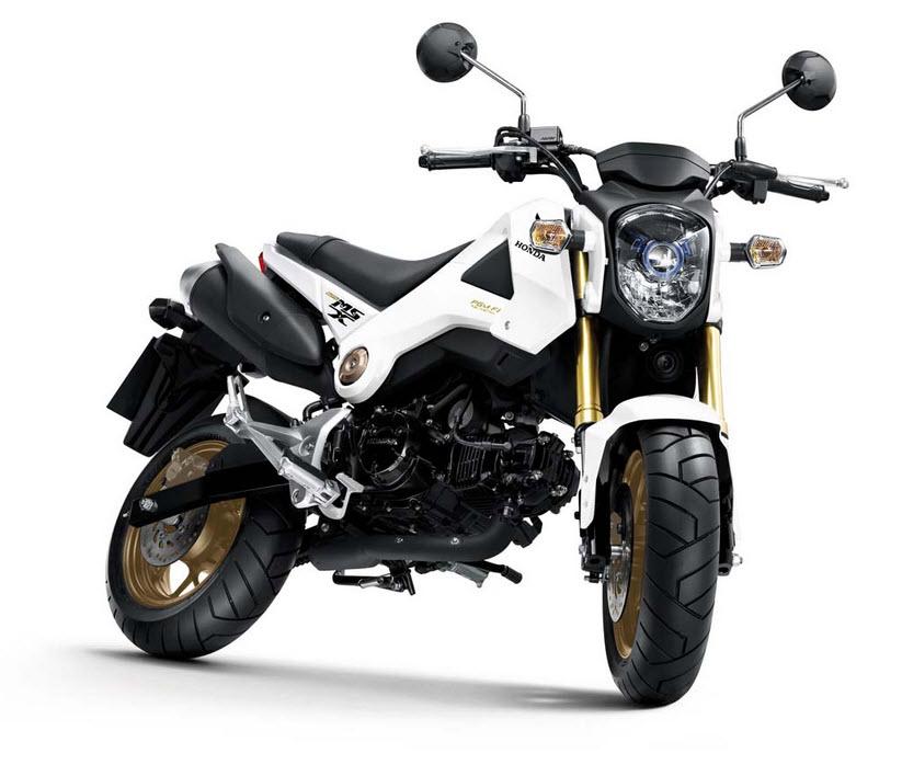 187 2014 Honda Msx125 Grom White At Cpu Hunter All