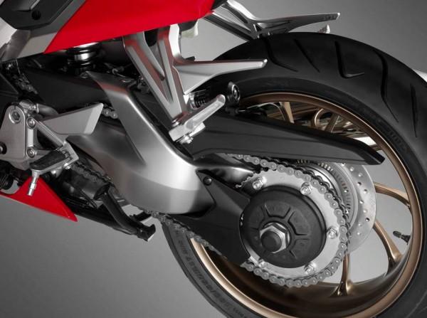 2014 Honda VFR800 Interceptor Rear Tyre