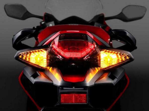 2014 Honda VFR800 Interceptor Tail light
