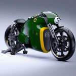 2014 Lotus C-01 Motorcycle Green