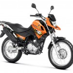 2014 Yamaha XTZ150S Crosser BlueFlex Orange