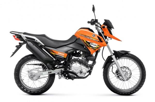 2014 Yamaha XTZ150S Crosser BlueFlex Orange_1