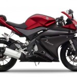 2014 Yamaha YZF-R125 Europe-Specs Anodized Red