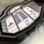 2014 Yamaha YZF-R125 Europe-Specs Instrument Display