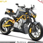 2015 Hero Hastur 620cc Streetfighter Concept