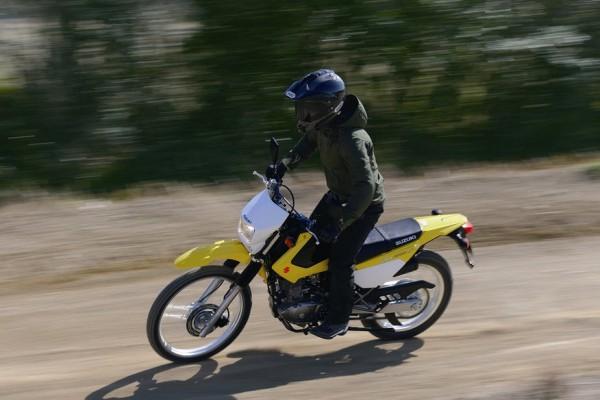 2015 Suzuki DR200S in Action_4